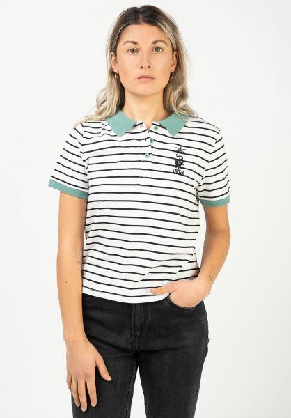 Vans T-Shirts Fabiana Stripe marshmallow vorderansicht 0322310