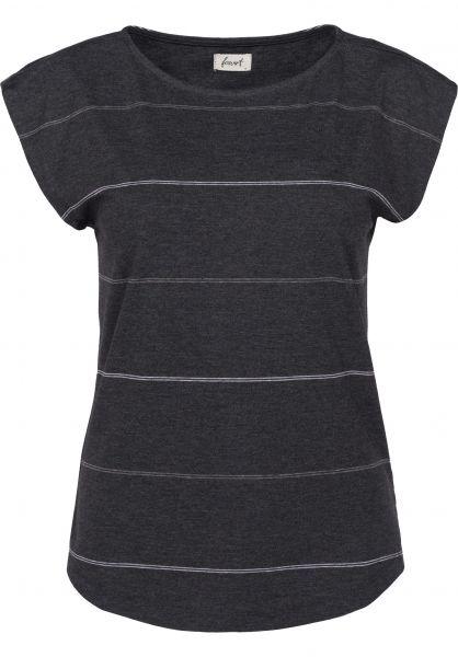 Forvert T-Shirts Helm black-striped Vorderansicht