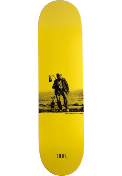 Sour Solution Skateboard Decks Ingemarsson Drifter yellow vorderansicht 0266159