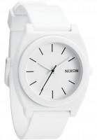 Nixon Uhren The-Time-Teller-P matte-white Vorderansicht