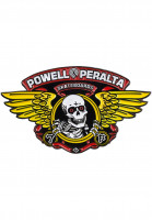 Powell-Peralta Verschiedenes Winged Ripper Lapel Pin multicolored Vorderansicht