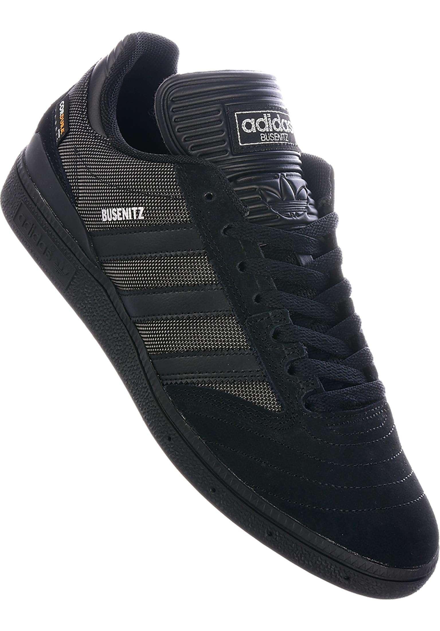 0f6bb63e12a4 Busenitz Pro adidas-skateboarding All Shoes in  coreblack-coreblack-coreblack for Men   Titus