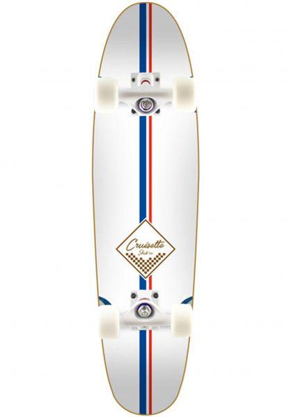 Cruisette Skate Co. Cruiser komplett Lauren white vorderansicht 0252847