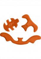 TSG Diverse Schoner Adult Helmet Pad Kit HS Flextech orange Vorderansicht