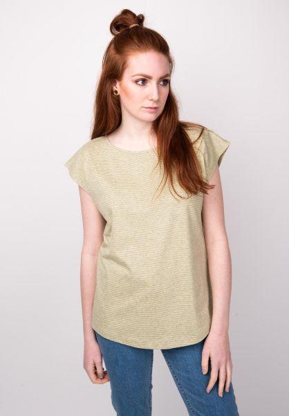 Forvert T-Shirts Kesilir greymelange-yellow vorderansicht 0398619