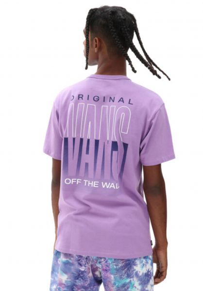 Vans T-Shirts Off The Wall Classic Graphic englishlavender vorderansicht 0321450