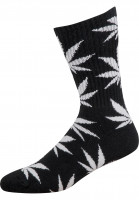 HUF Socken Plantlife Crew Sock black Vorderansicht