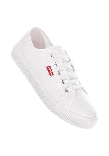 Levi's® Alle Schuhe Malibu Beach S brilliantwhite vorderansicht 0612491