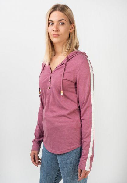 Ragwear Longsleeves Drop Organic lilac vorderansicht 0383602