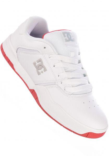 DC Shoes Alle Schuhe Central white-red vorderansicht 0604881