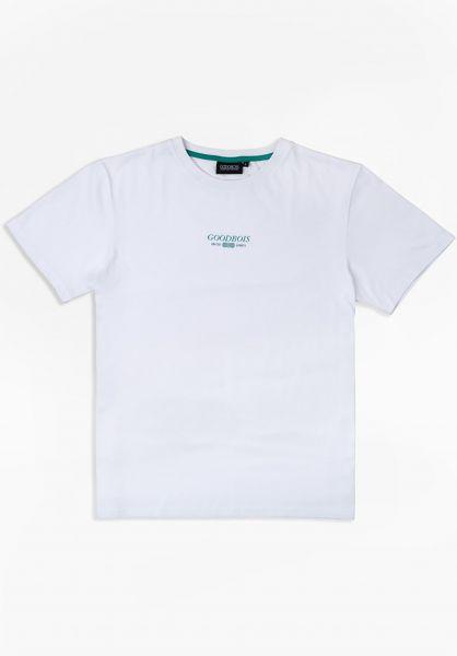 Goodbois T-Shirts Trademark white vorderansicht 0324275