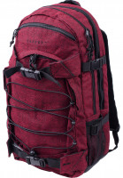 Forvert-Rucksaecke-New-Laptop-Louis-flannel-red-Vorderansicht