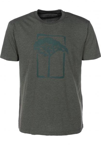 Mahagony T-Shirts T.O.L darkgreen vorderansicht 0399464