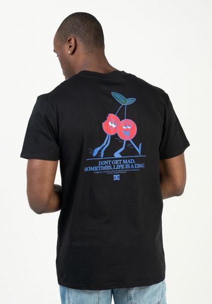 DC Shoes T-Shirts Dont Get Mad black vorderansicht 0323300