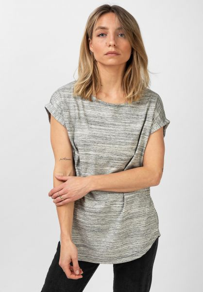 Wemoto T-Shirts Bell Mel grey-melange vorderansicht 0321386