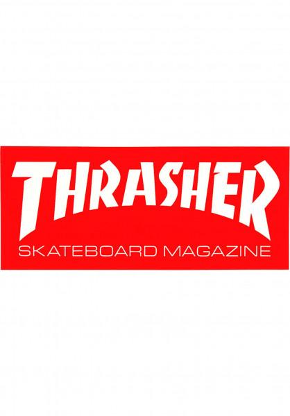 Thrasher Verschiedenes Skate Mag Mini Sticker red Vorderansicht