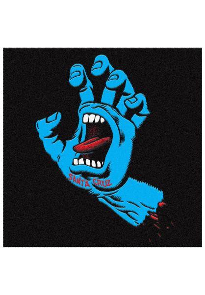 Santa-Cruz Verschiedenes SCREAMING HAND Rug blue vorderansicht 0972560