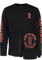 Telum Longsleeves Come On Board black Vorderansicht