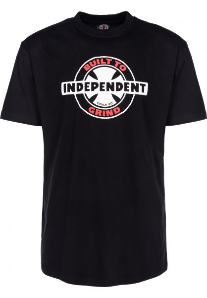 Independent T-Shirts 95 BTG Ring black Vorderansicht