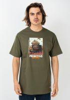 primitive-skateboards-t-shirts-x-marvel-thing-militarygreen-vorderansicht-0322242