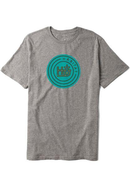 Habitat T-Shirts H-POD grey vorderansicht 0320588