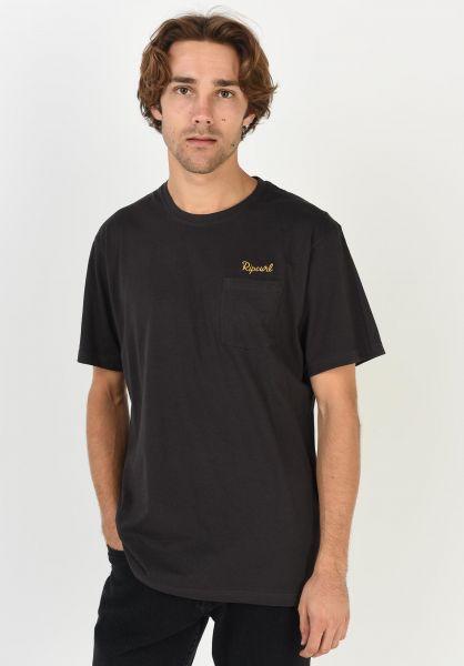 Rip Curl T-Shirts SWC Pocket phantom vorderansicht 0322293