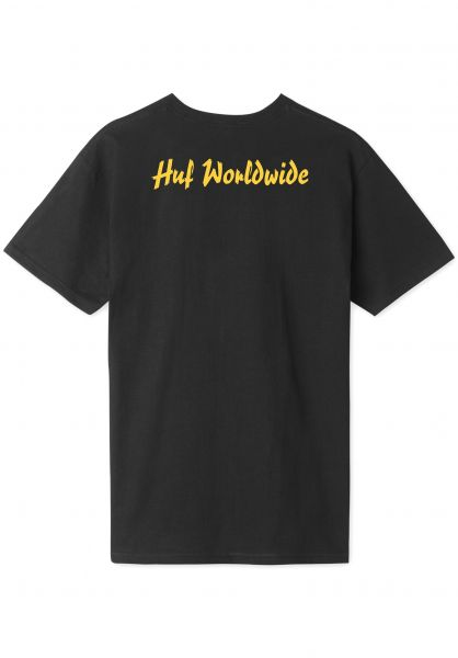 HUF T-Shirts Pulp Era black unteransicht 0321179
