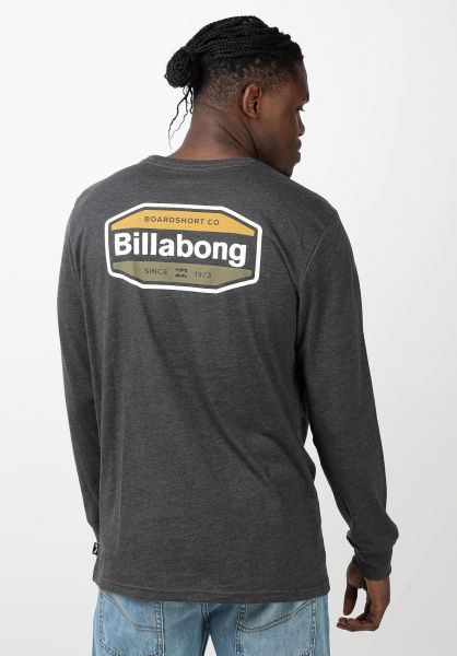 Billabong Hemden langarm Gold Coast black vorderansicht 0412004