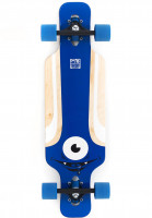 Solid Longboards komplett Eye Kids blue Vorderansicht