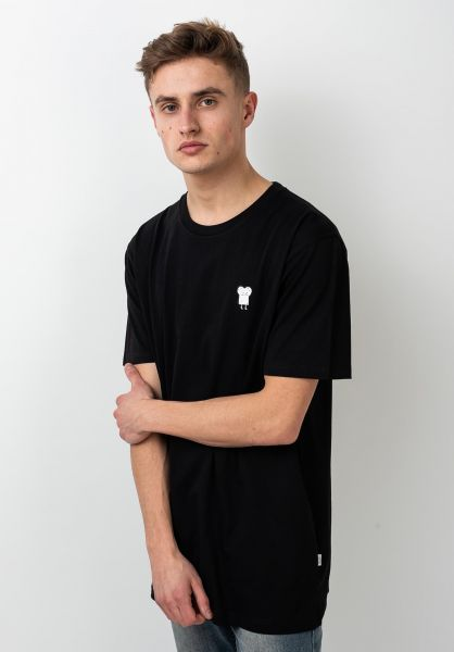 Cleptomanicx T-Shirts Toast black vorderansicht 0364468
