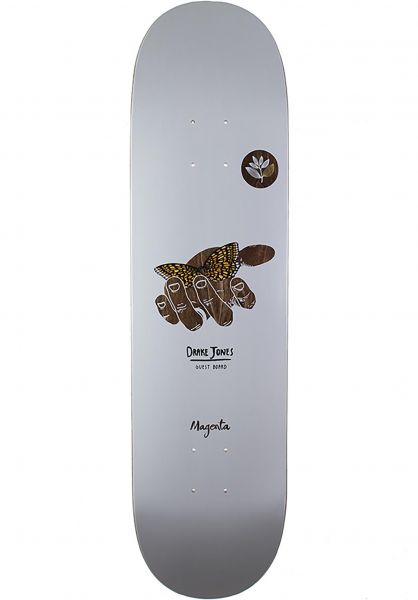 Magenta Skateboard Decks Drake Jones Guest Board white Vorderansicht