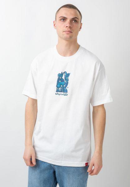 Chocolate T-Shirts Folkloric Rabbit white vorderansicht 0320539