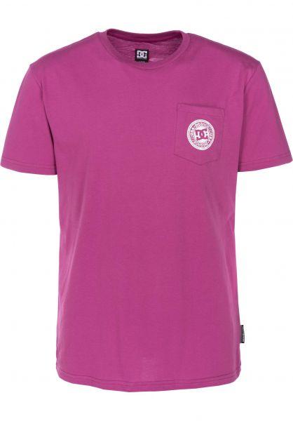 DC Shoes T-Shirts Basic Pocket 3 vividviola vorderansicht 0399660