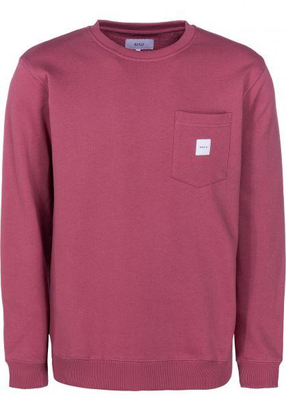 Makia Sweatshirts und Pullover Square Pocket mauve vorderansicht 0422690