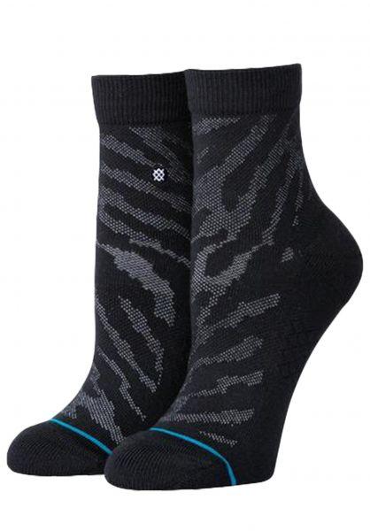 Stance Socken Eldrick QTR black vorderansicht 0631955