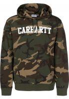 Carhartt WIP Hoodies College camolaurel-white Vorderansicht 0443540