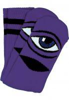 Toy-Machine-Socken-Sect-Eye-III-purple-Vorderansicht