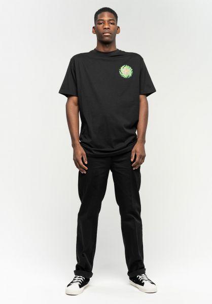 Santa-Cruz T-Shirts Slimeballs black vorderansicht 0396107