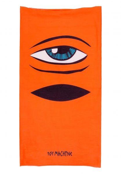 Toy-Machine Mützen Sect Eye Balaclava orange vorderansicht 0572607