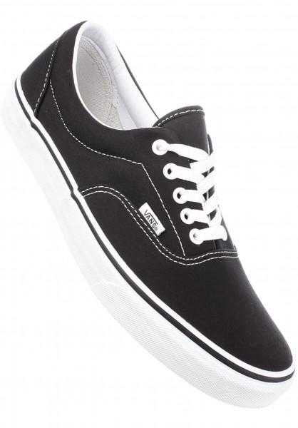 Vans Alle Schuhe Era black-white Vorderansicht