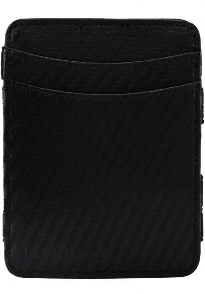 Hunterson Portemonnaie Magic Wallet RFID carbon vorderansicht 0781046