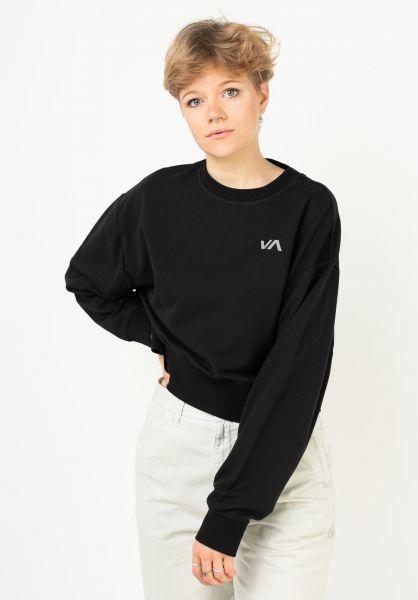 RVCA Sweatshirts und Pullover Fashion black vorderansicht 0423084