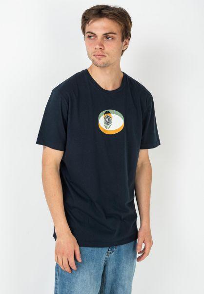 Volcom T-Shirts Laps navy vorderansicht 0322526