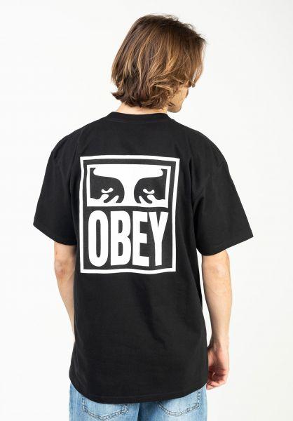 OBEY T-Shirts Obey Eyes Icon 2 black vorderansicht 0321975