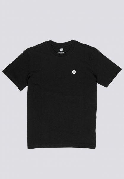 Element T-Shirts Crail flintblack vorderansicht 0323375