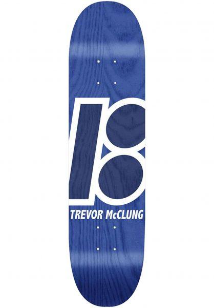 Plan-B Skateboard Decks Trevor Stained blue vorderansicht 0260578