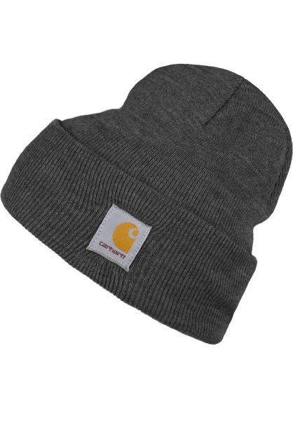 d061da5f2d1 Acrylic Watch Hat Carhartt WIP Beanies in darkgreyheather for Men ...