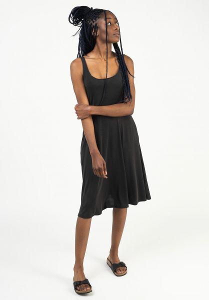Ragwear Kleider Trisha black 121 vorderansicht 0801589