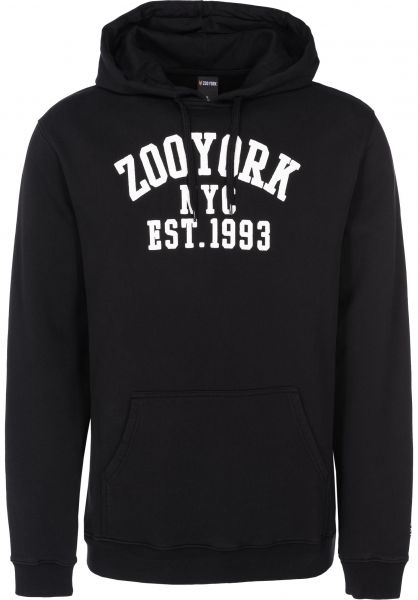 Zoo York Hoodies Branch Arch black vorderansicht 0445115