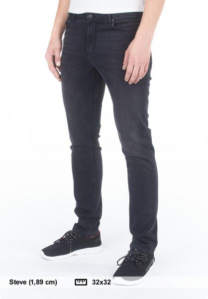 Reell Jeans Spider blackwash vorderansicht 0227065